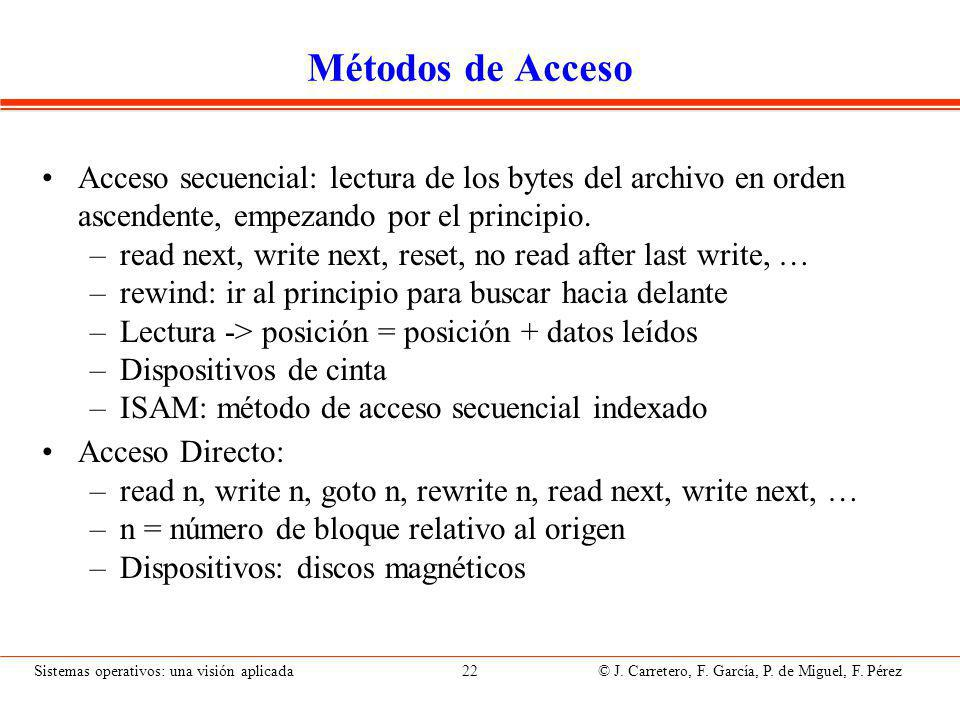 Archivos: semántica de coutilización