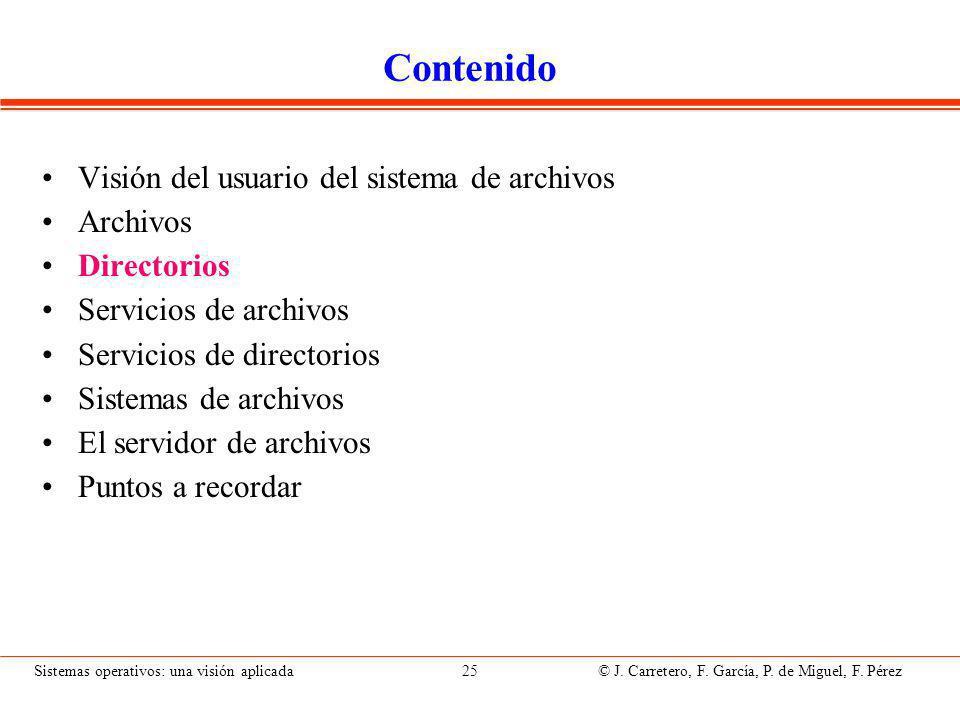 Concepto de directorio