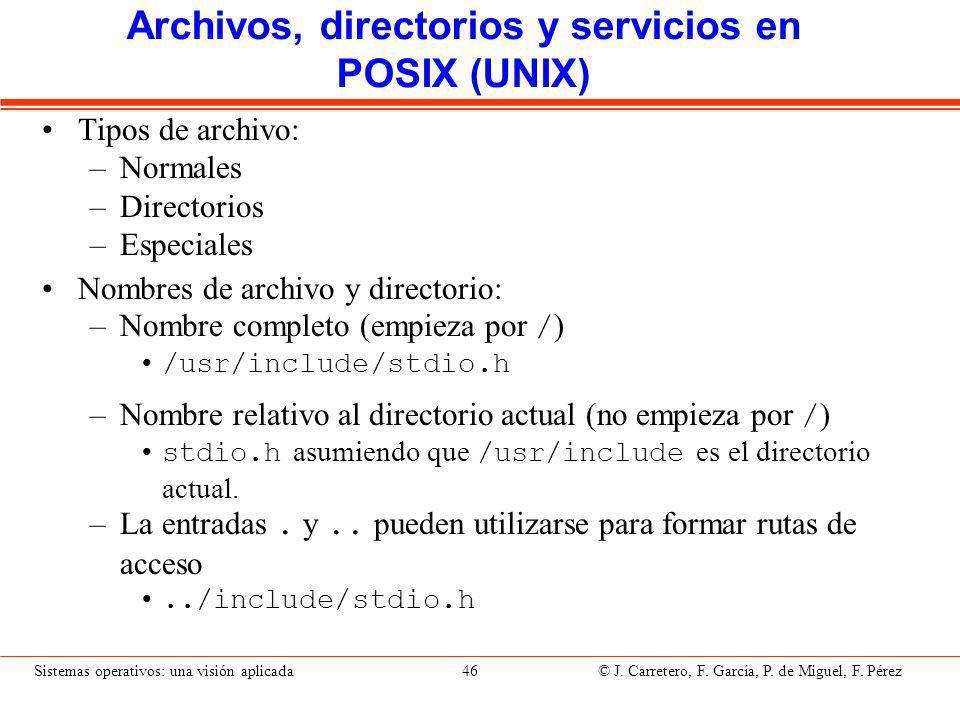 creat. Crea un archivo Servicio: Argumentos: name Nombre de archivo
