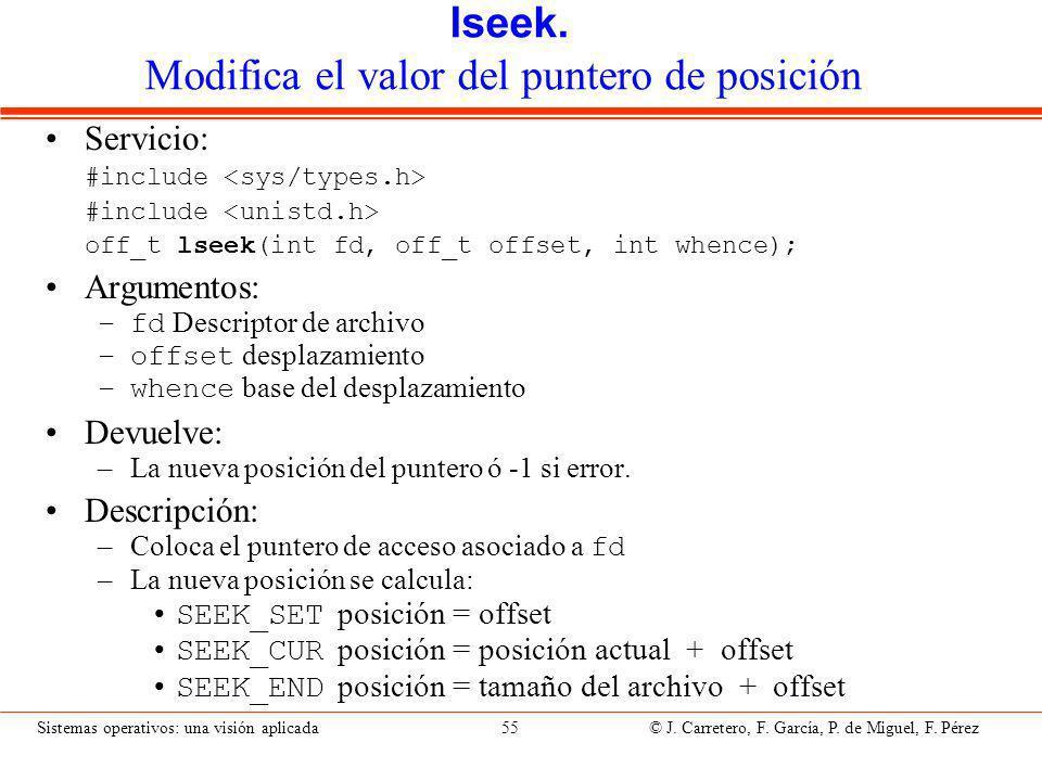 fnctl. modificación de atributos de un archivo