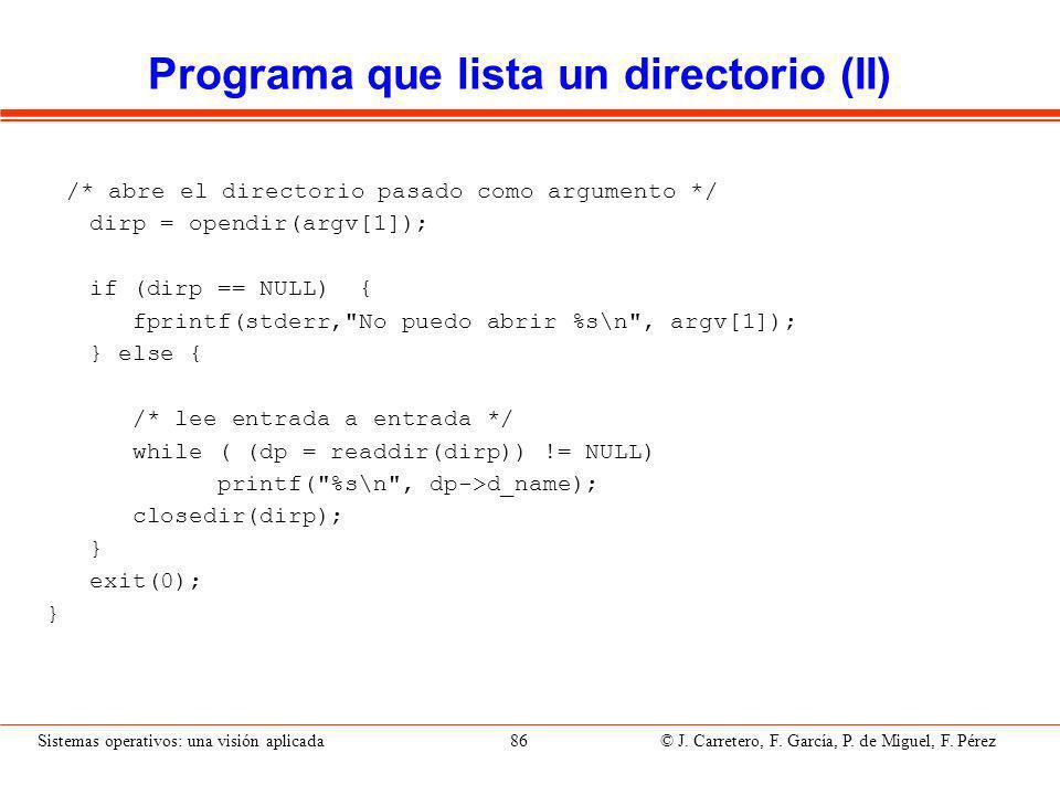 Servicios Win32 para directorios