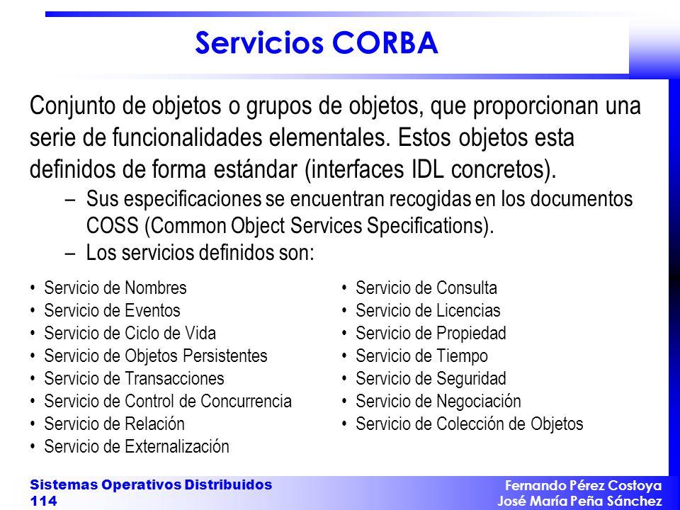 Servicios CORBA