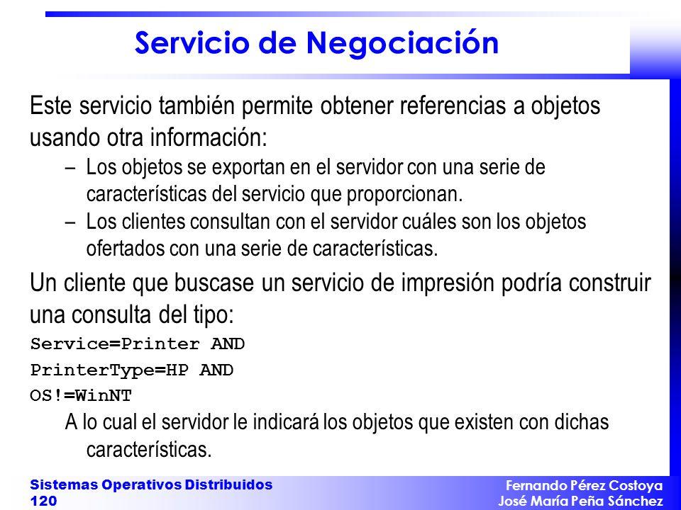 Servicio de Negociación