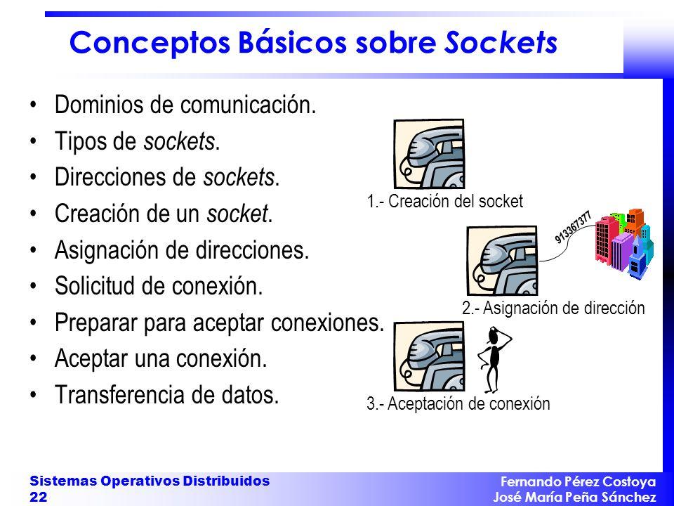 Conceptos Básicos sobre Sockets