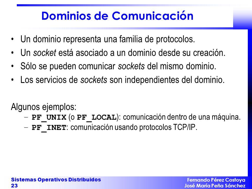 Dominios de Comunicación