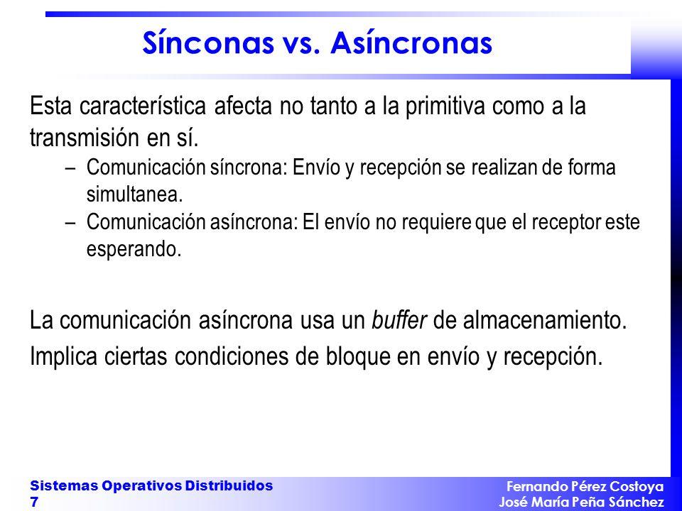 Sínconas vs. Asíncronas