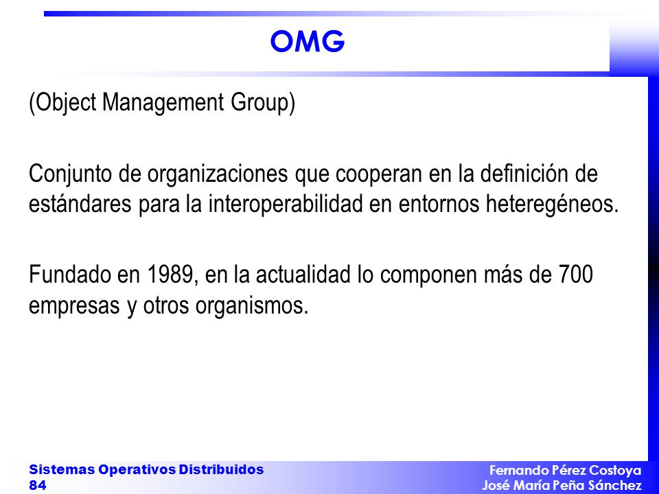 OMG (Object Management Group)