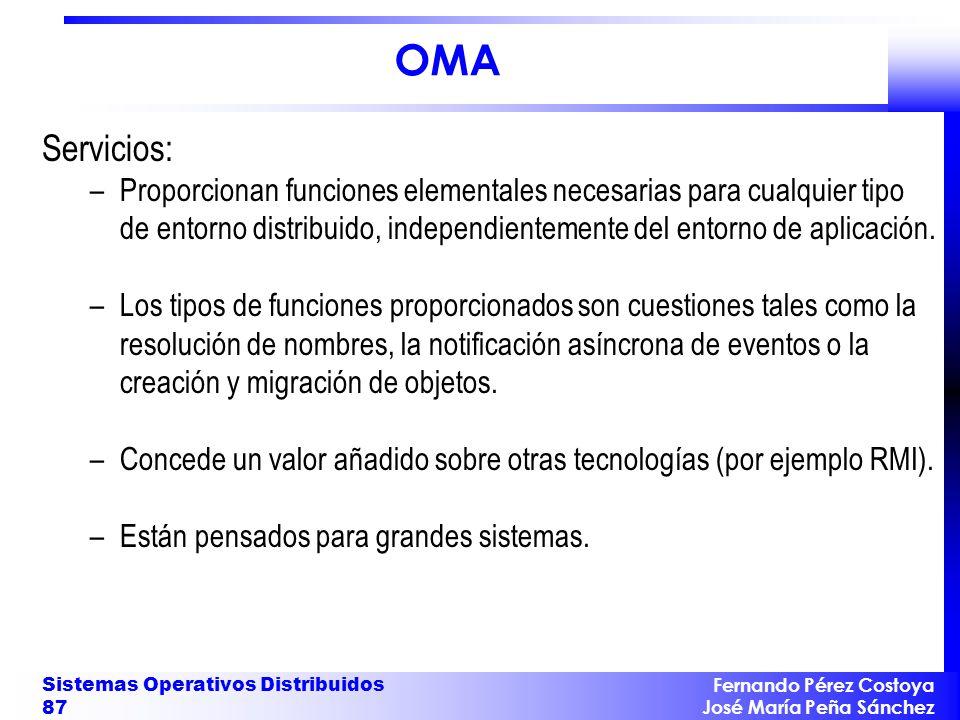 OMA Servicios: