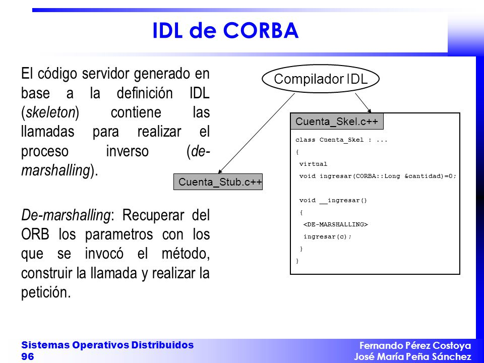 IDL de CORBA