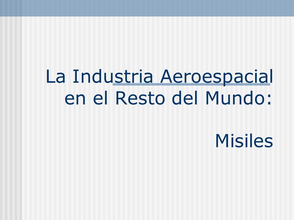 La Industria Aeroespacial en el Resto del Mundo: Misiles