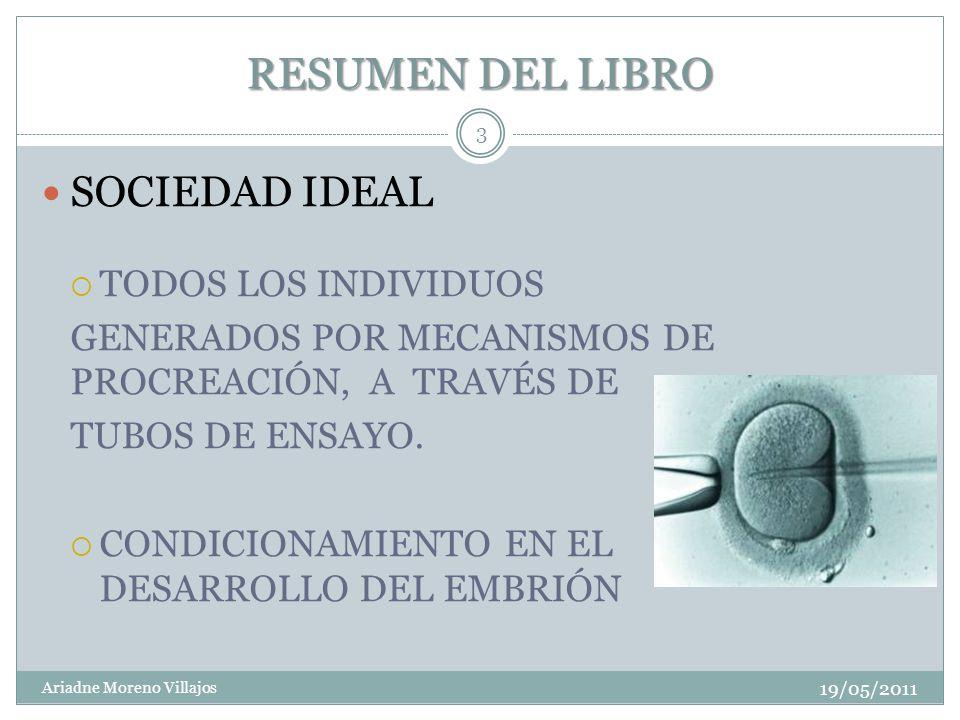 RESUMEN DEL LIBRO SOCIEDAD IDEAL TODOS LOS INDIVIDUOS