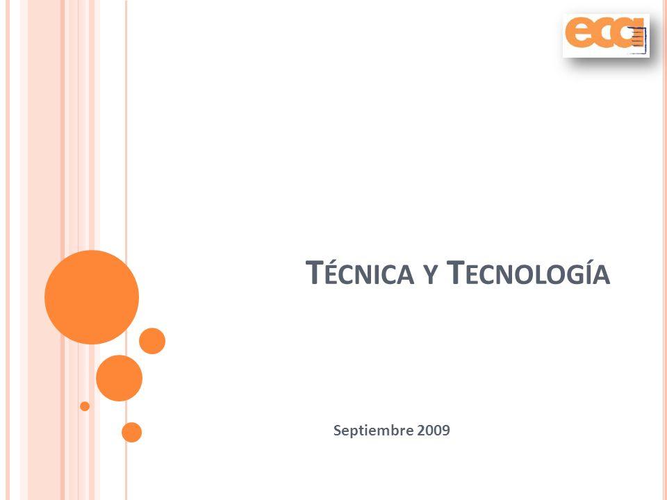 Técnica y Tecnología Septiembre 2009
