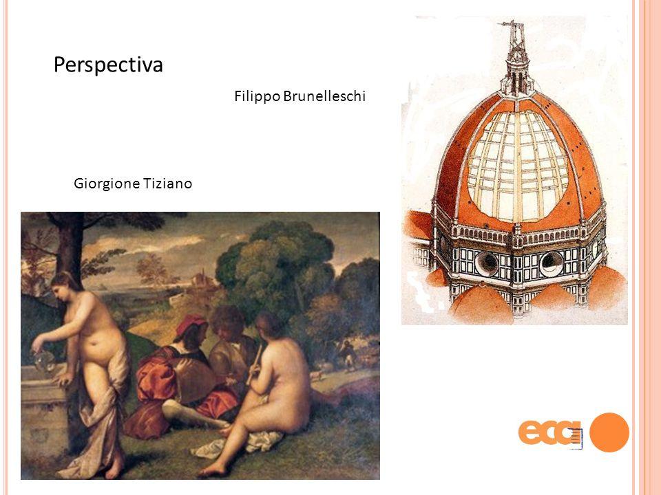 Perspectiva Filippo Brunelleschi Giorgione Tiziano