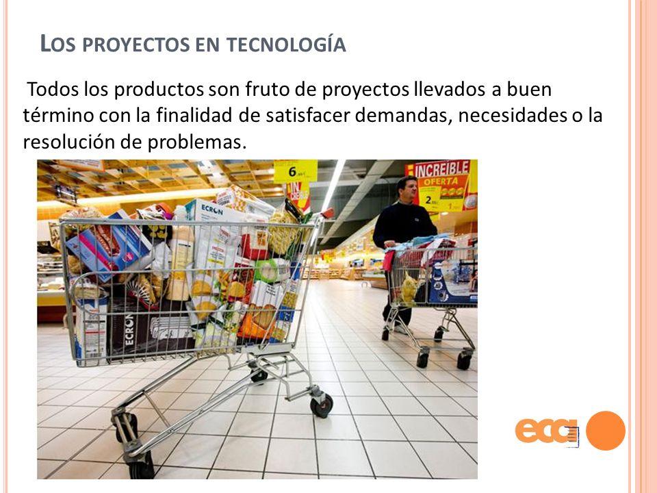 Los proyectos en tecnología
