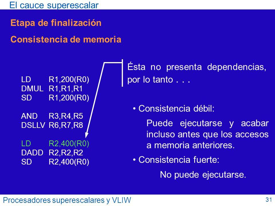 Consistencia de memoria
