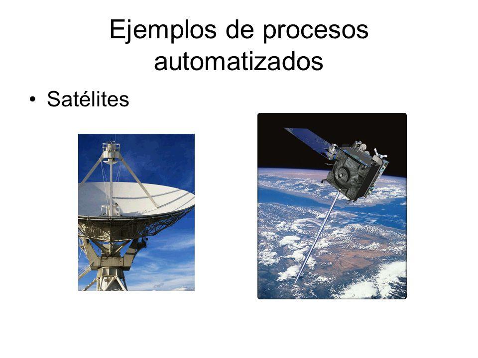 Ejemplos de procesos automatizados