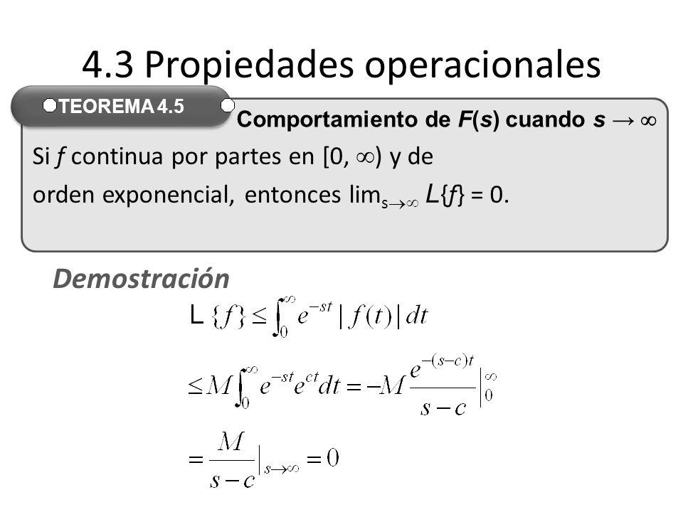 4.3 Propiedades operacionales