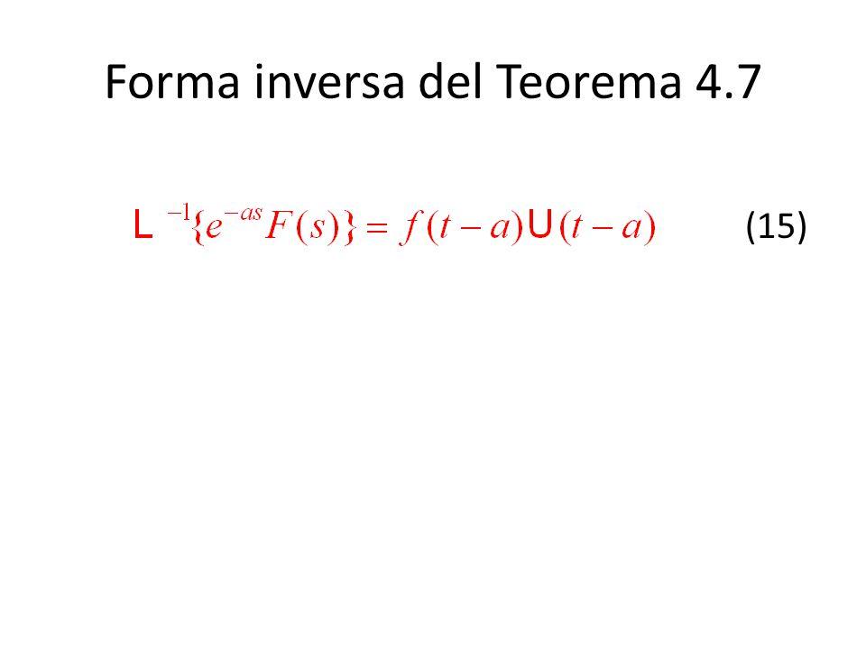 Forma inversa del Teorema 4.7