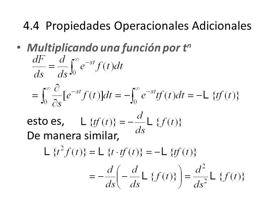4.4 Propiedades Operacionales Adicionales