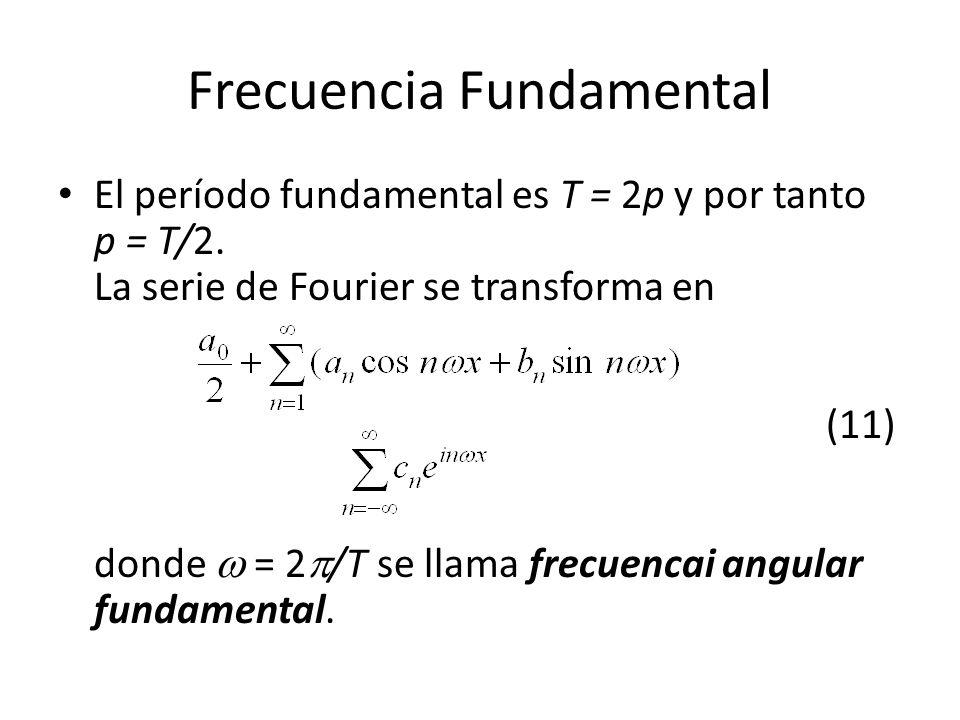 Frecuencia Fundamental