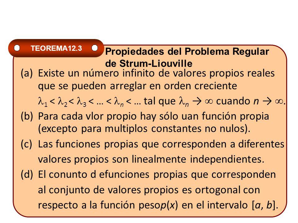 1 < 2 < 3 < … < n < … tal que n →  cuando n → .