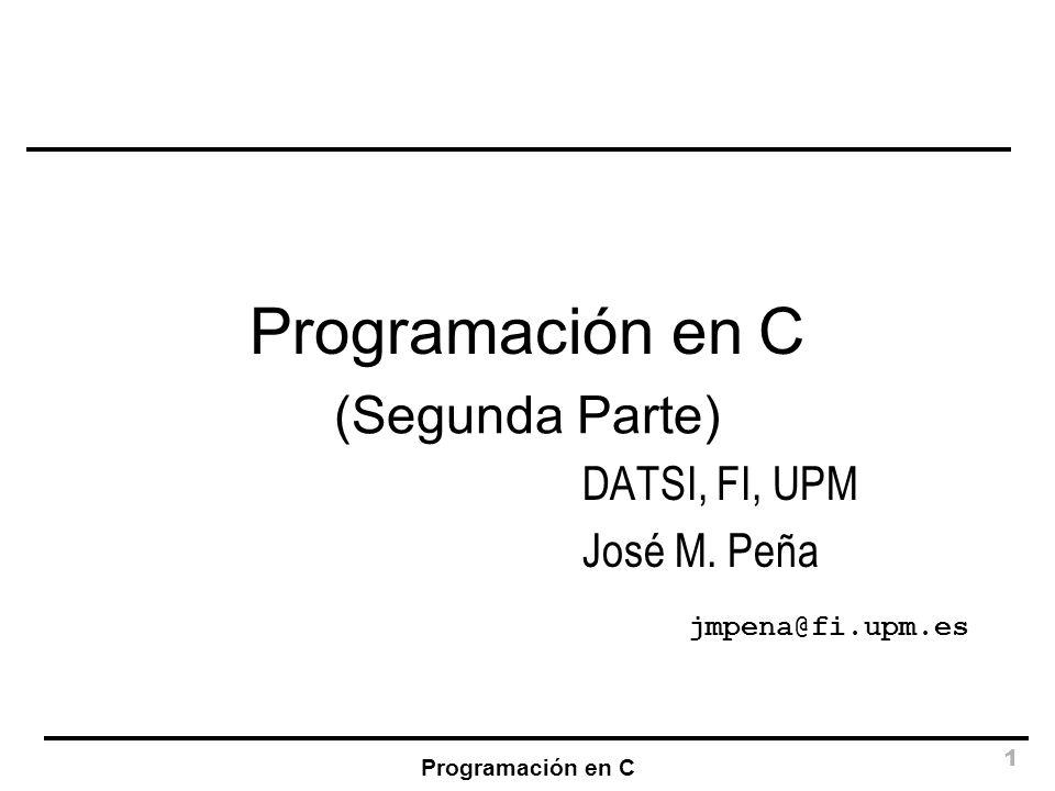 DATSI, FI, UPM José M. Peña jmpena@fi.upm.es