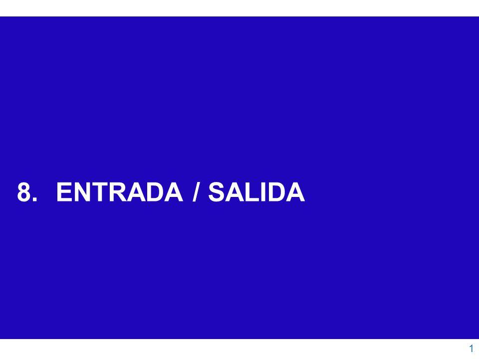 ENTRADA / SALIDA 1