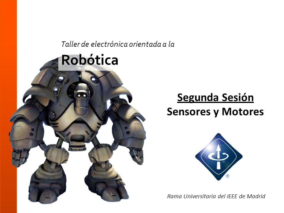 Segunda Sesión Sensores y Motores