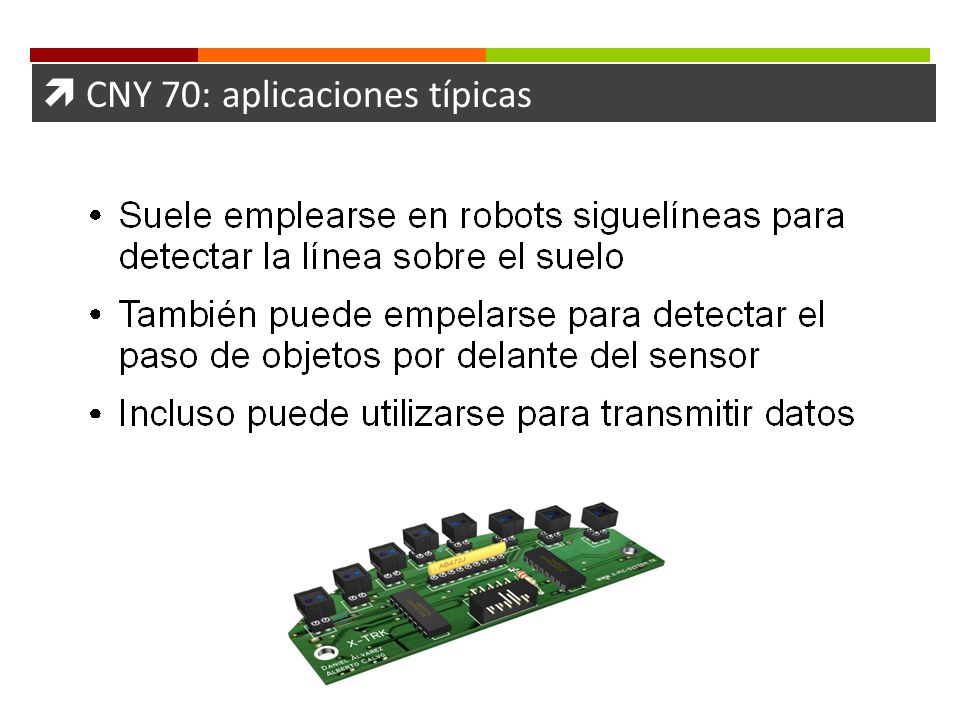  CNY 70: aplicaciones típicas