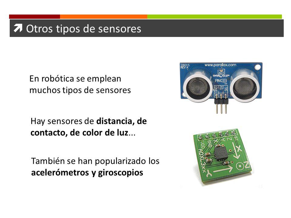  Otros tipos de sensores