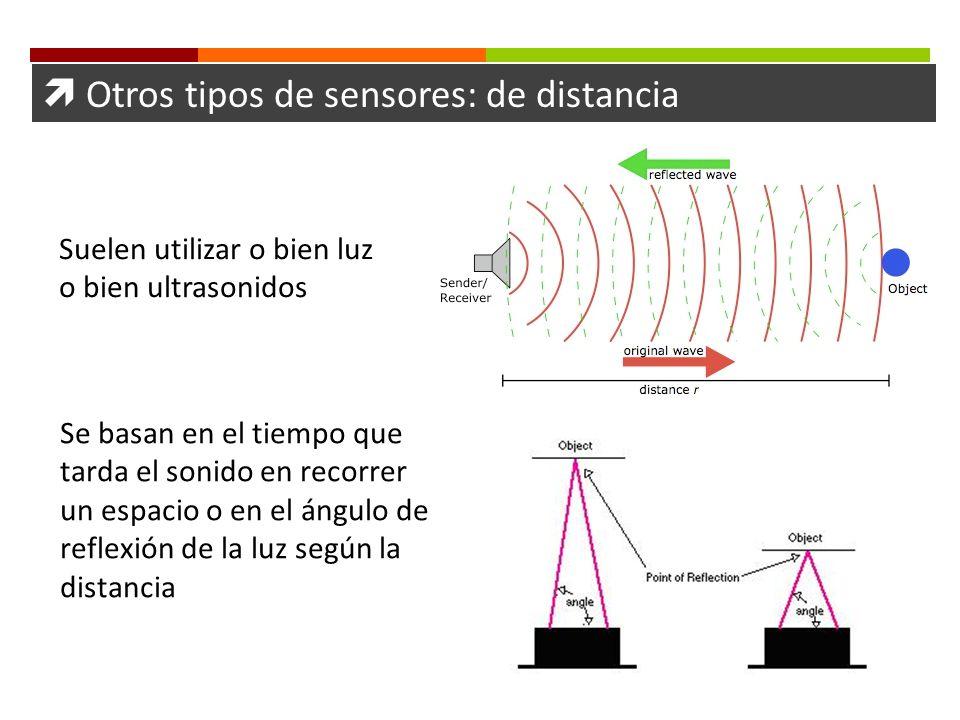  Otros tipos de sensores: de distancia