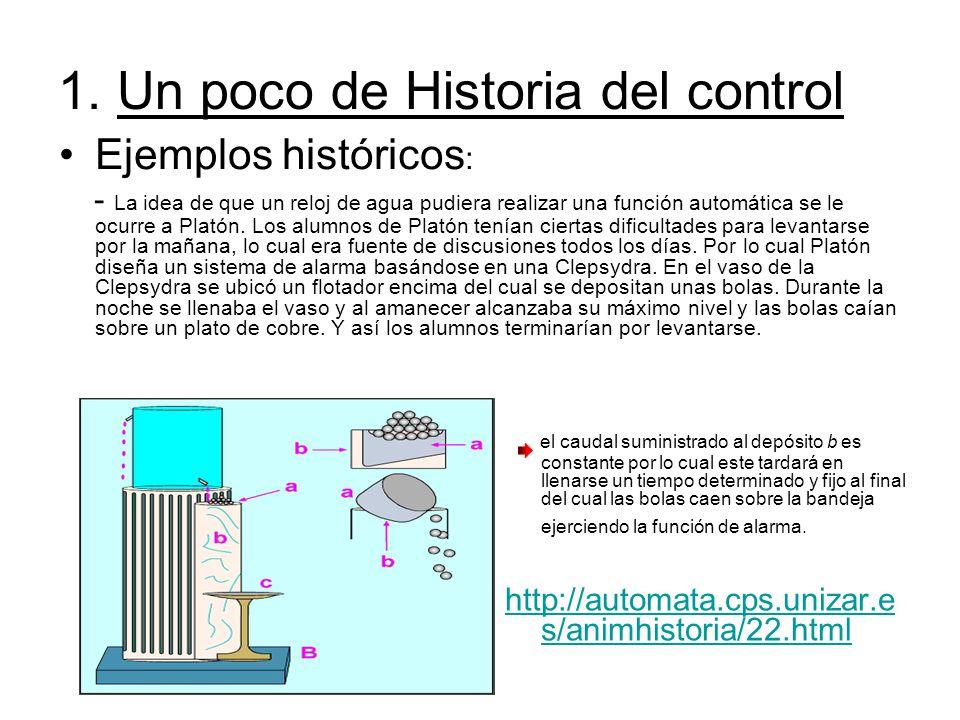 1. Un poco de Historia del control