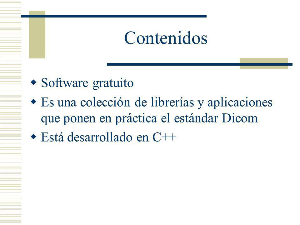 Contenidos Software gratuito