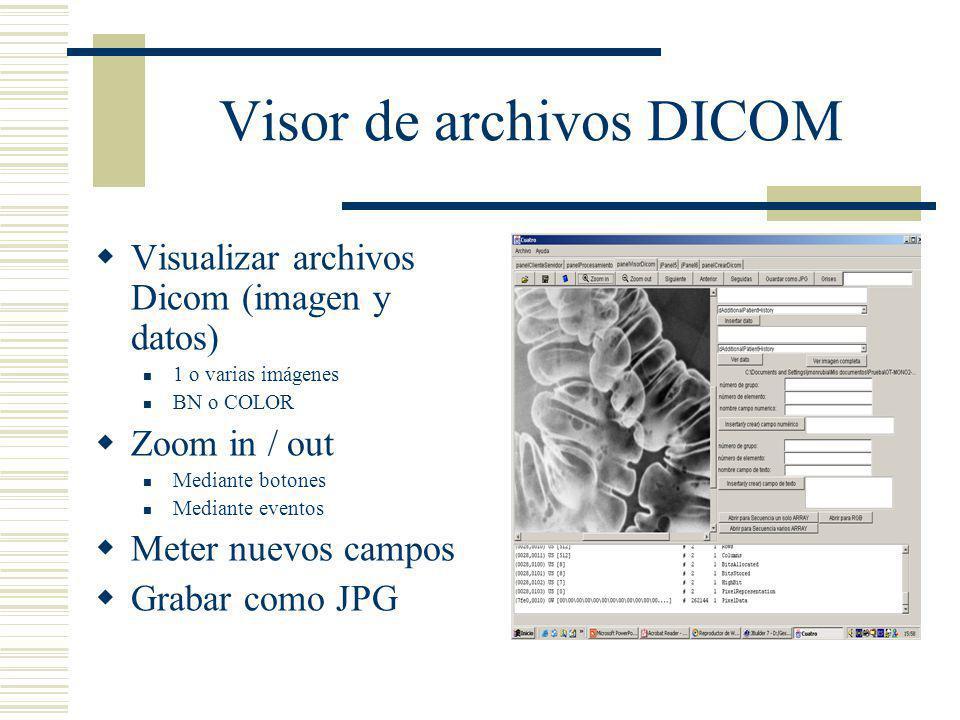 Visor de archivos DICOM