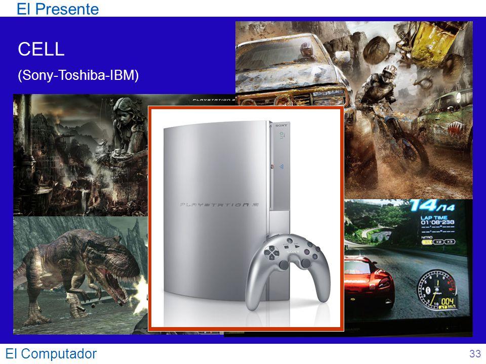 El Presente CELL (Sony-Toshiba-IBM) El Computador 33