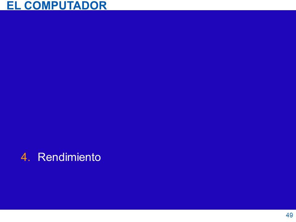 EL COMPUTADOR Rendimiento 49 49