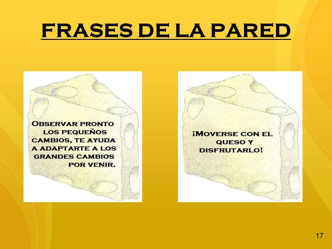 FRASES DE LA PARED