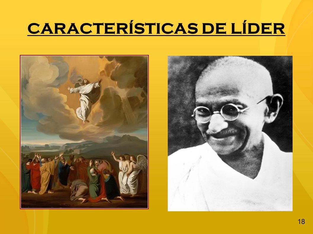 CARACTERÍSTICAS DE LÍDER