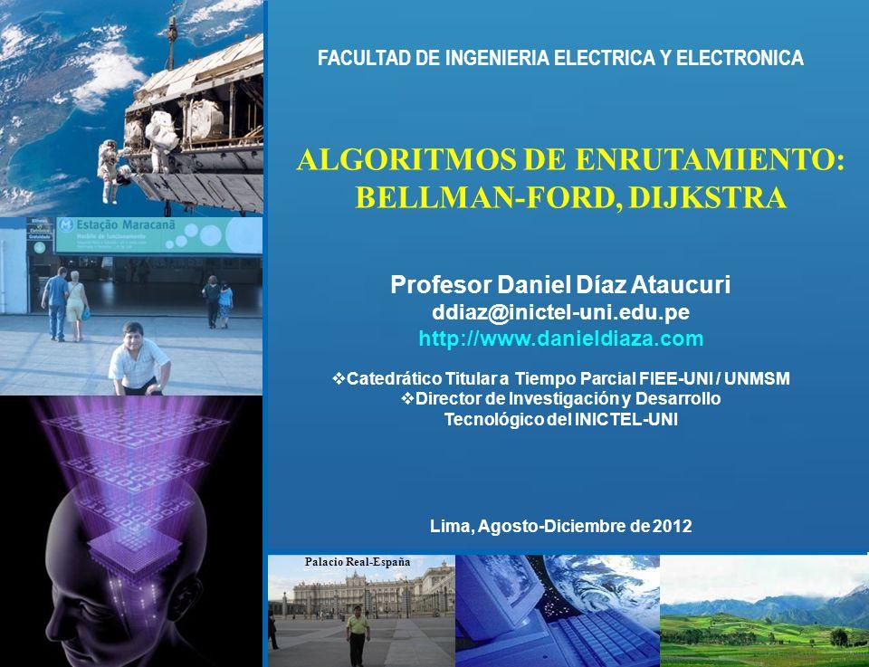 ALGORITMOS DE ENRUTAMIENTO: BELLMAN-FORD, DIJKSTRA