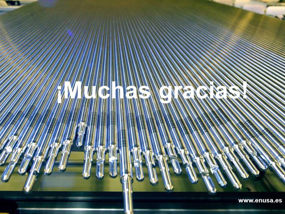 ¡Muchas gracias! Enusa, Avanzamos con energía www.enusa.es