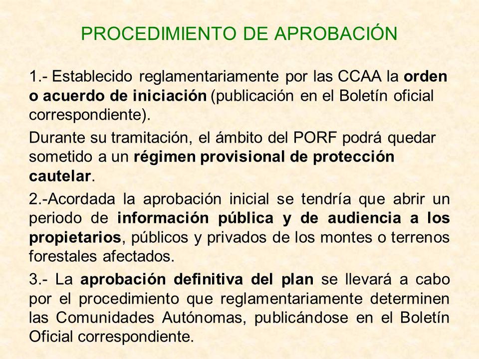 PROCEDIMIENTO DE APROBACIÓN