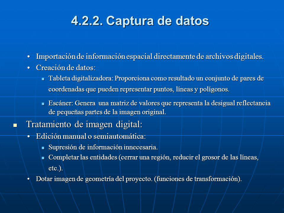 4.2.2. Captura de datos Tratamiento de imagen digital: