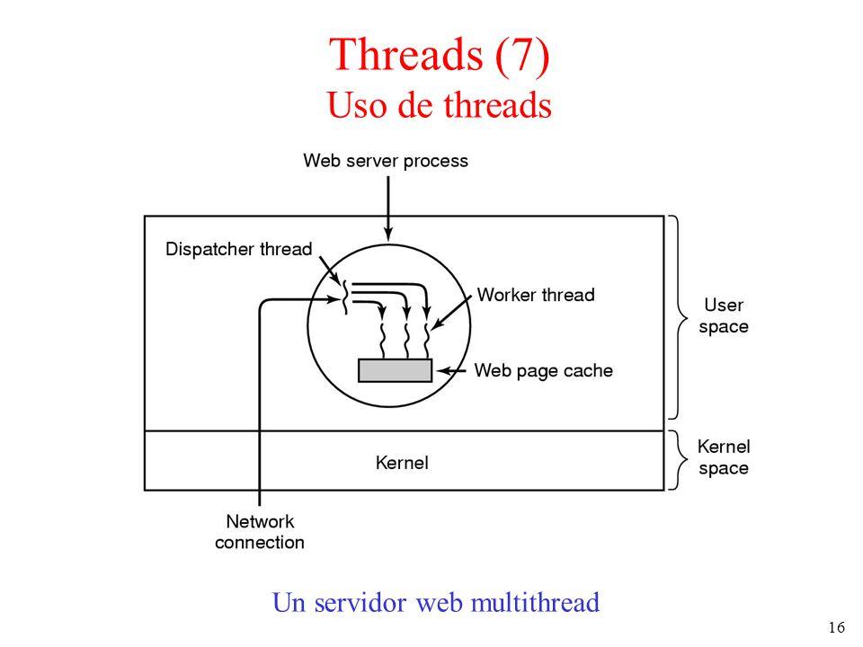 Threads (7) Uso de threads