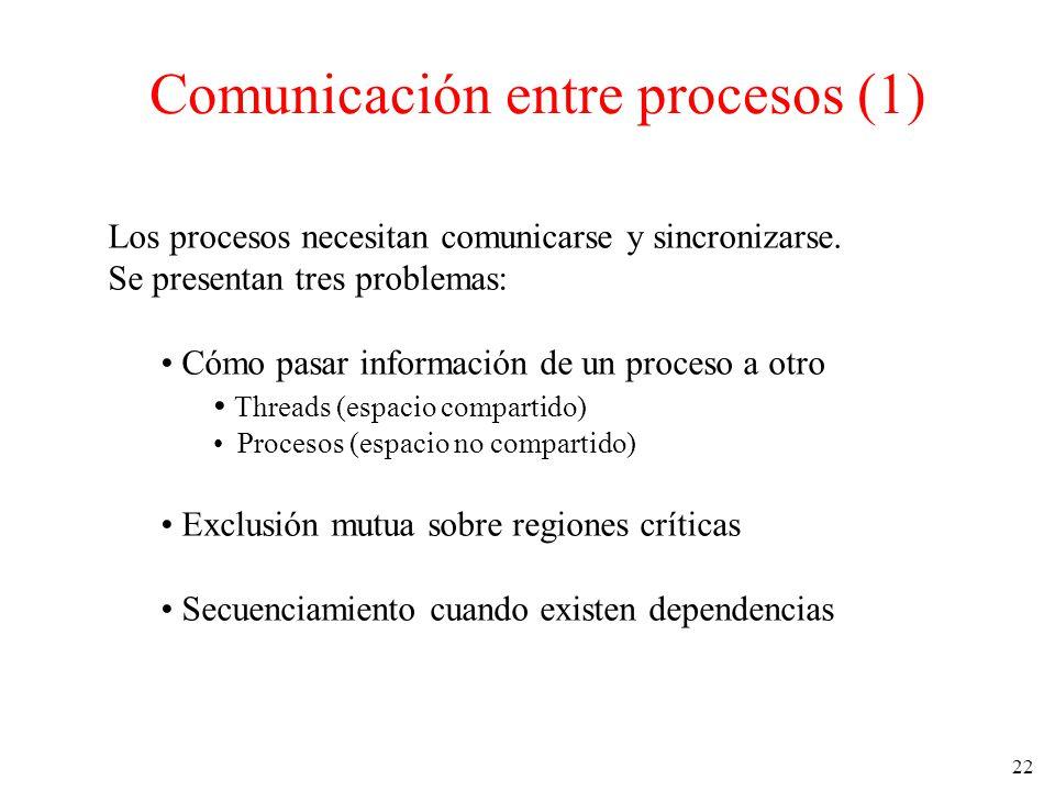 Comunicación entre procesos (1)
