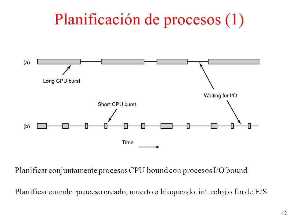 Planificación de procesos (1)