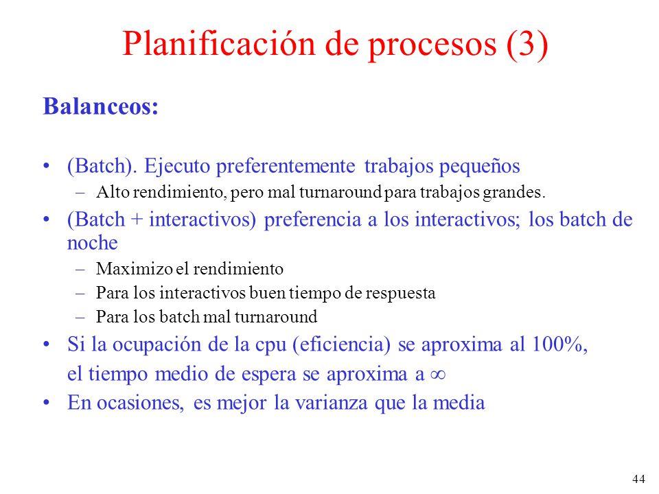 Planificación de procesos (3)