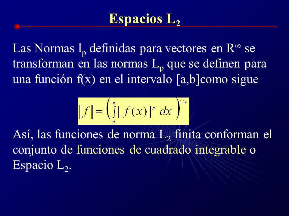 Espacios L2