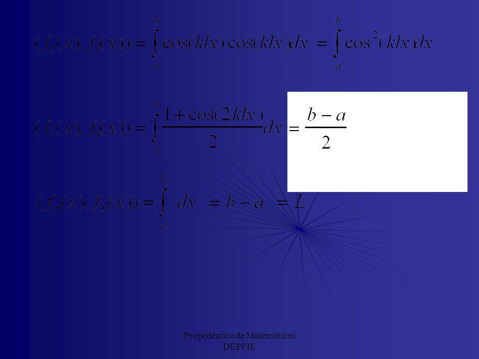 Propedéutico de Matemáticas DEPFIE