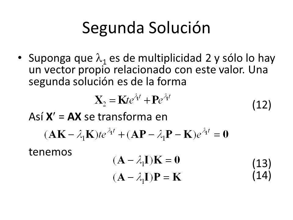 Segunda Solución