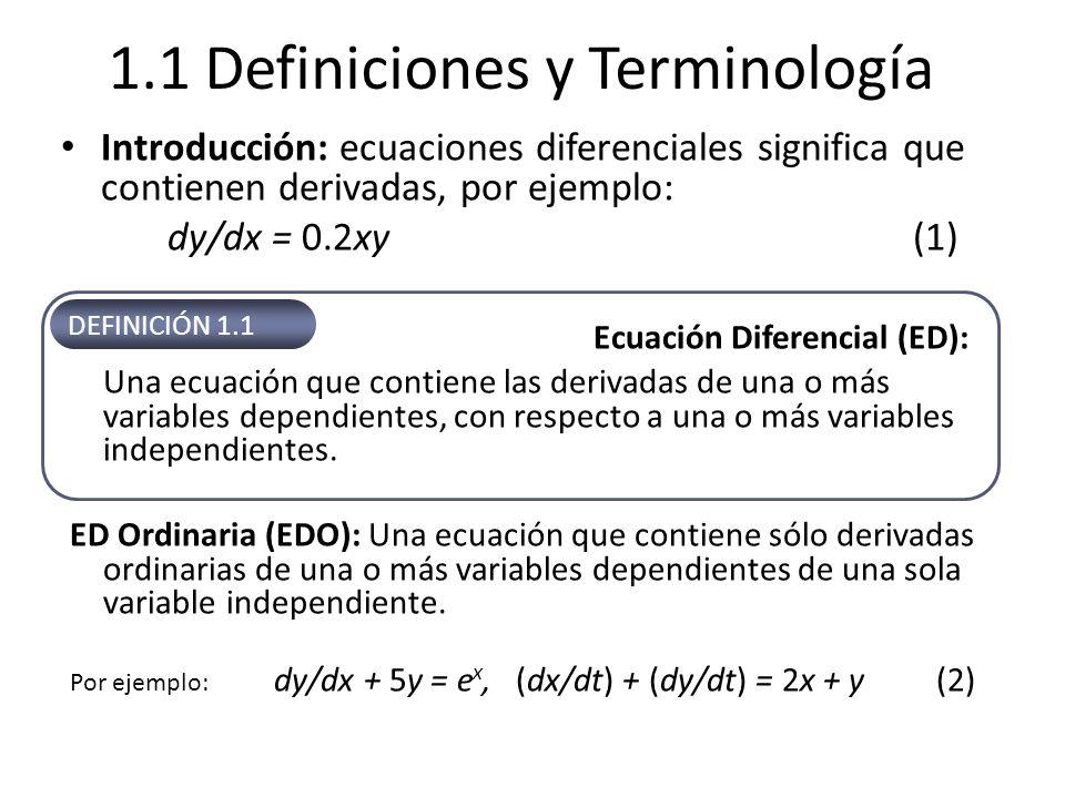 1.1 Definiciones y Terminología